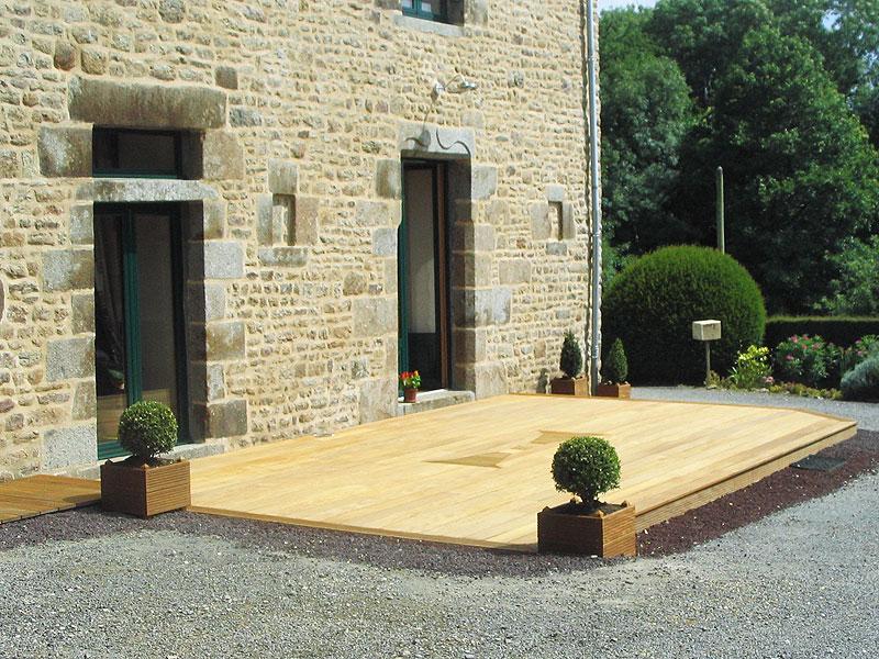 » Terrasse parquet Manche 50 Calvados Avranches Granville Coutances Vire St Lo